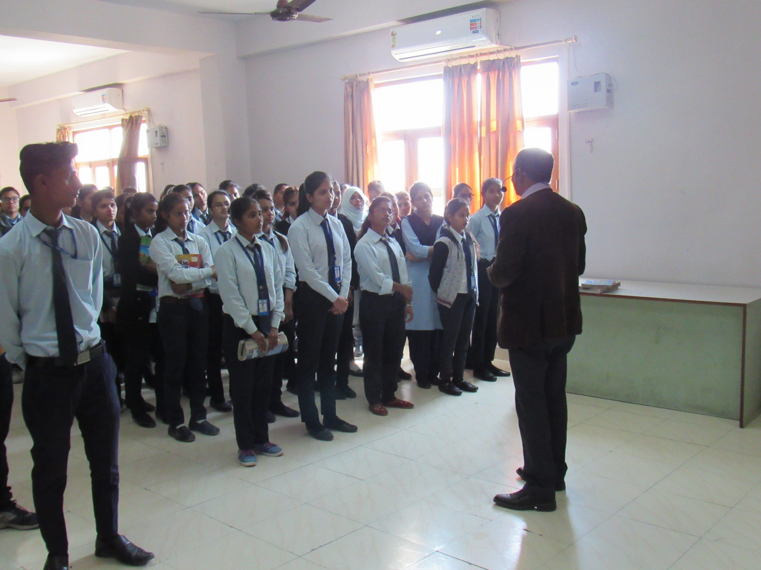 Career counselling session by CSJM faculty